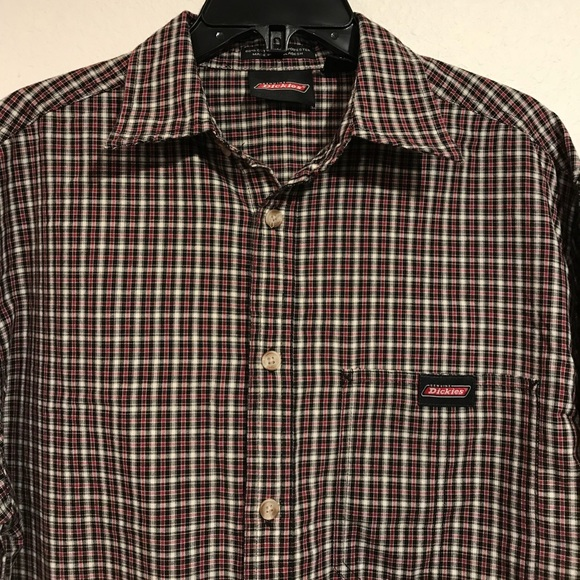 Dickies Other - Dickies Long Sleeve Button Up (med)